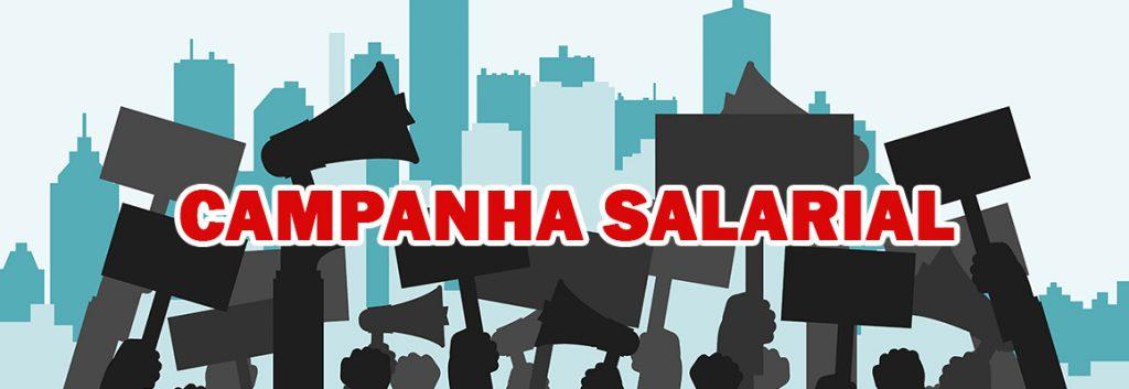 DEFINIDA A CAMPANHA SALARIAL 2018