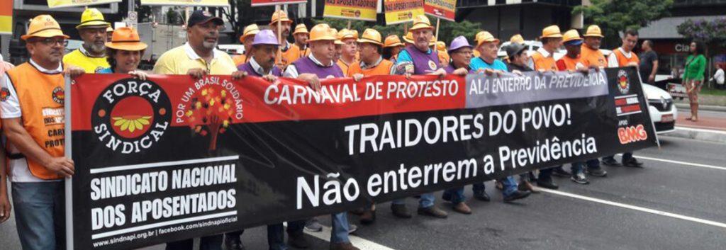 SINDIFÍCIOS CONTRA A REFORMA DA PREVIDÊNCIA