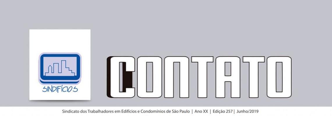 """Confira o boletim do SINDIFÍCIOS """"O CONTATO"""" deste mês"""