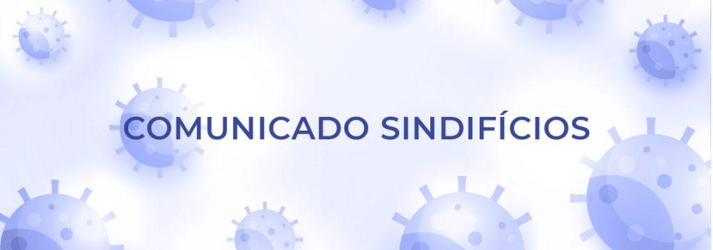 COMUNICADO SINDIFÍCIOS