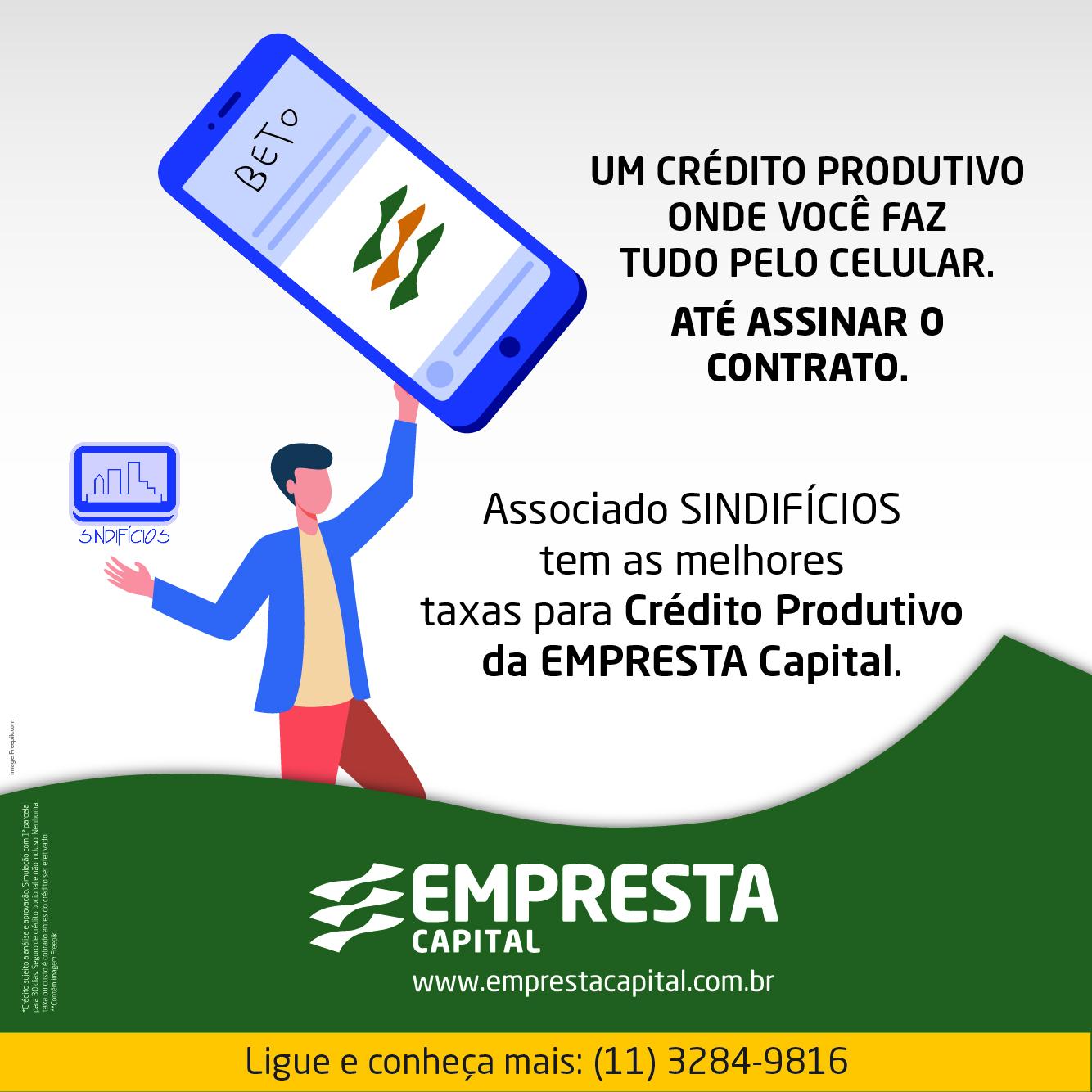 Empréstimo pelo celular, sem burocracia