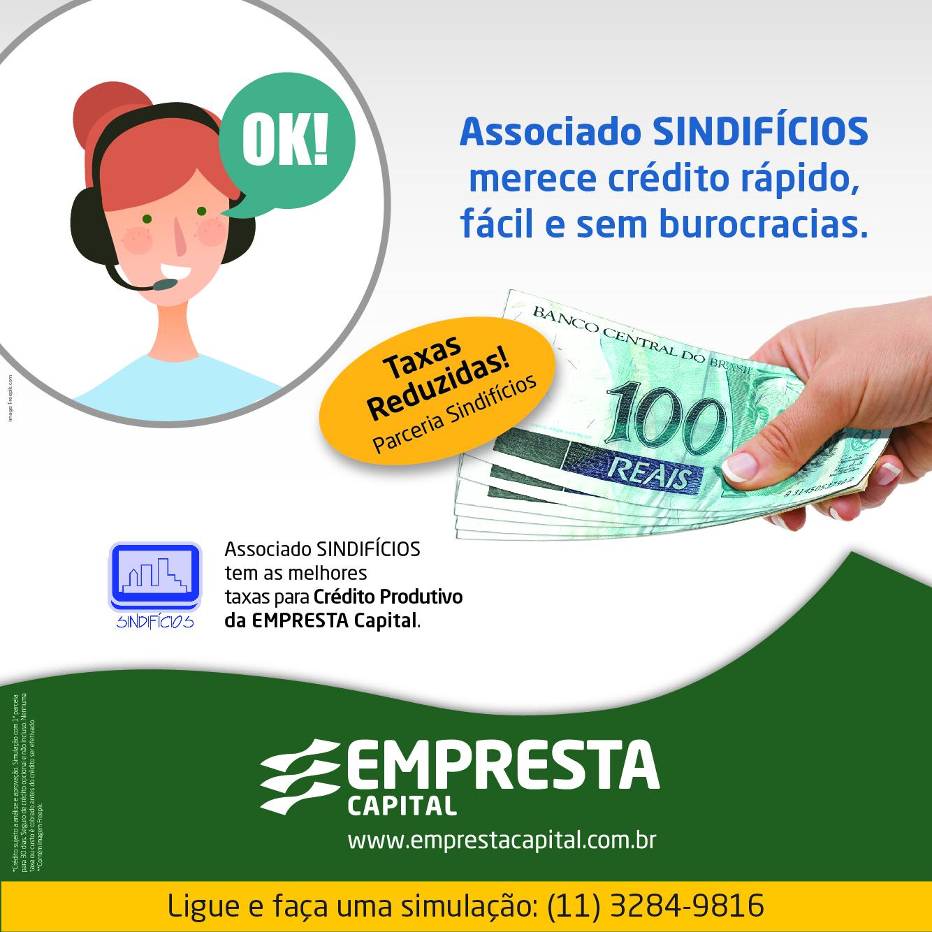 Crédito rápido e sem burocracia