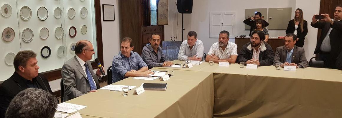 Reunião com Alckimin