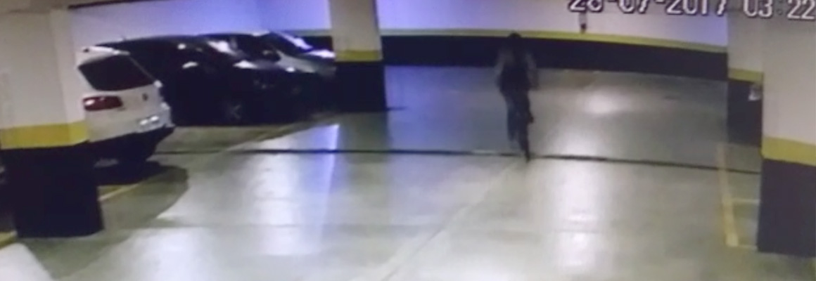 Vídeo mostra assalto em condomínio com Portaria Virtual